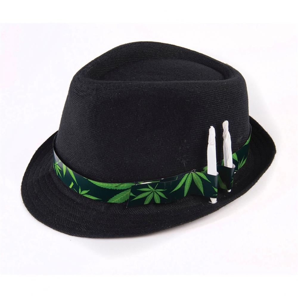 Cannabis Fedora Hat