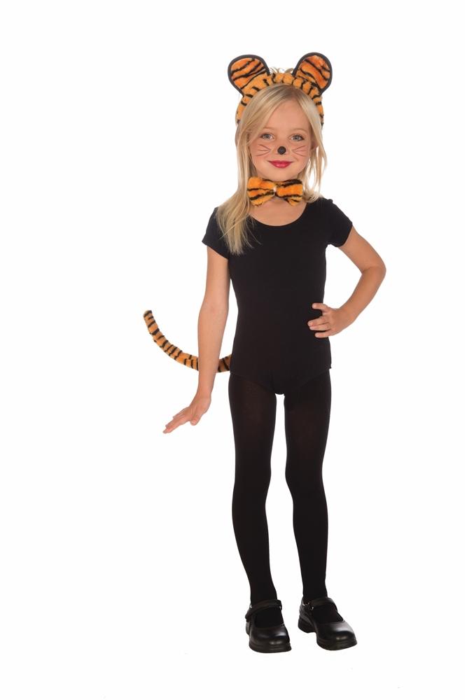 Plush Tiger Child Costume Kit