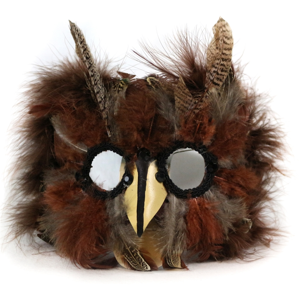 Carnival Bird Feather Mask