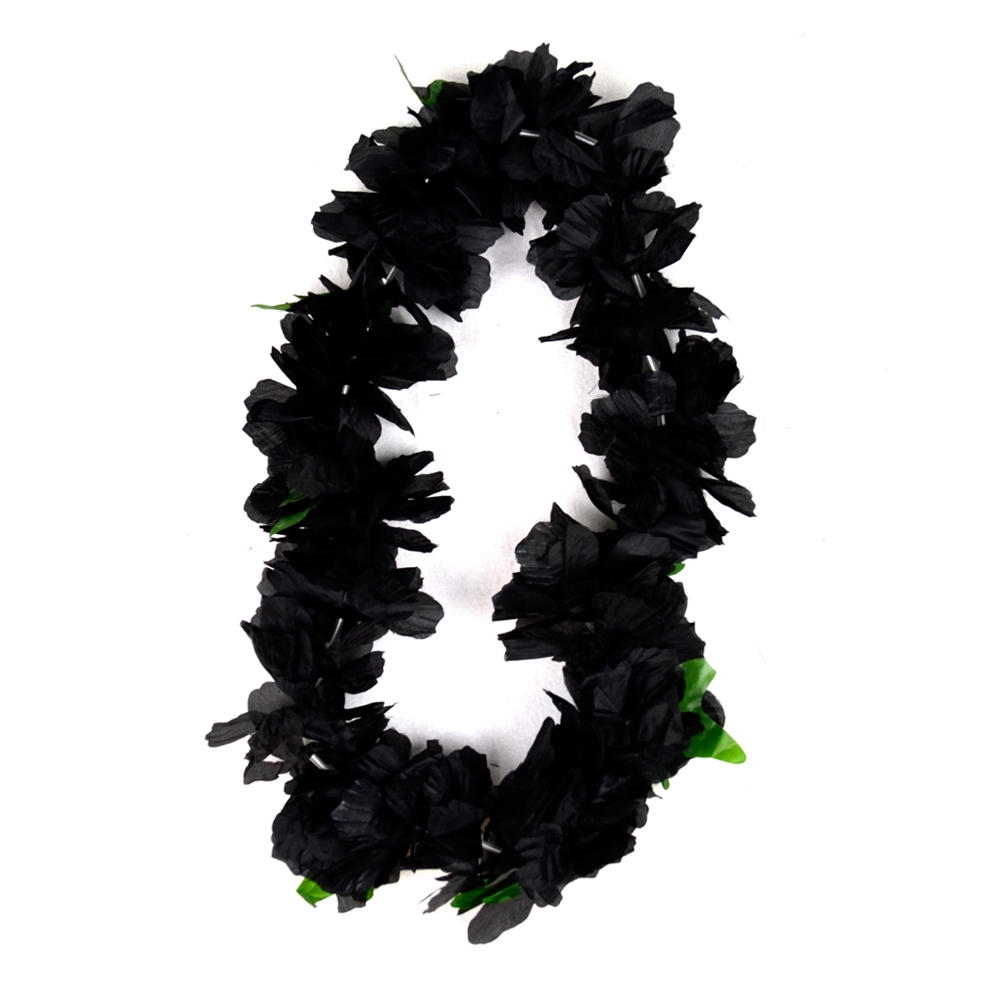 Black Widow Flower Lei