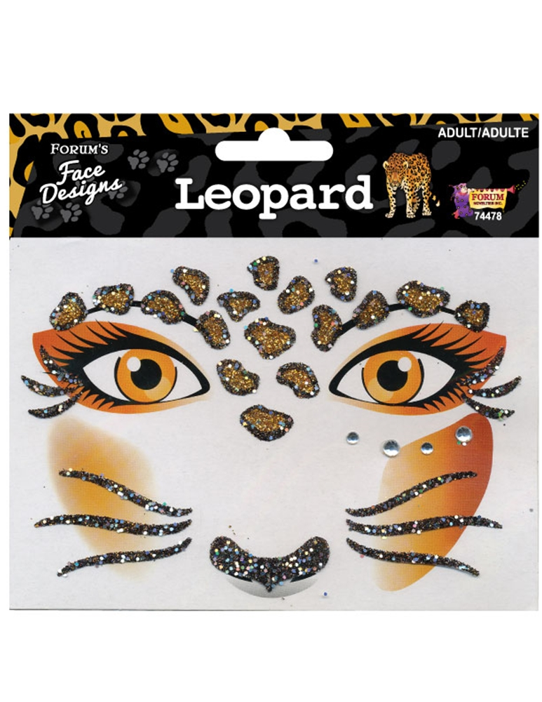 Leopard Face Design by Forum Novelties