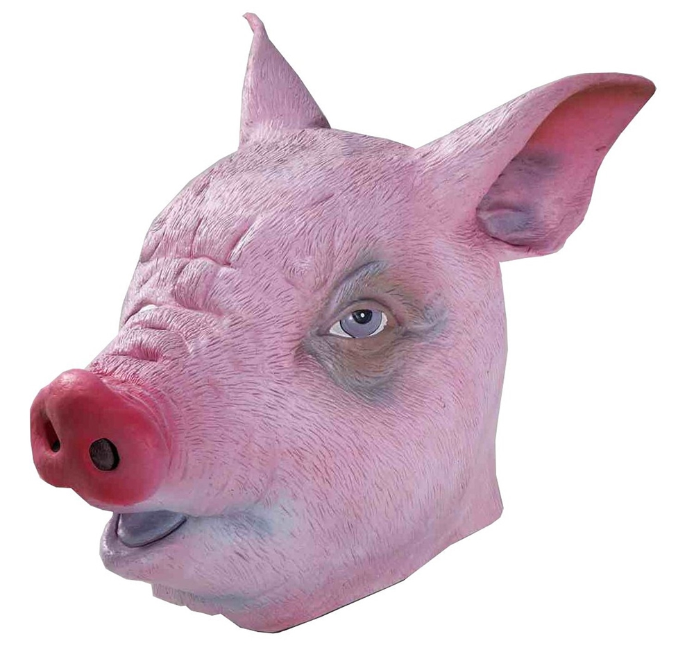 Pig Deluxe Latex Mask