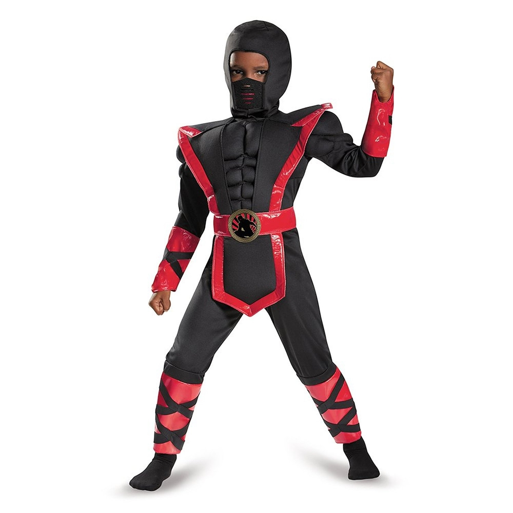 Ninja Warrior Muscle Toddler Costume