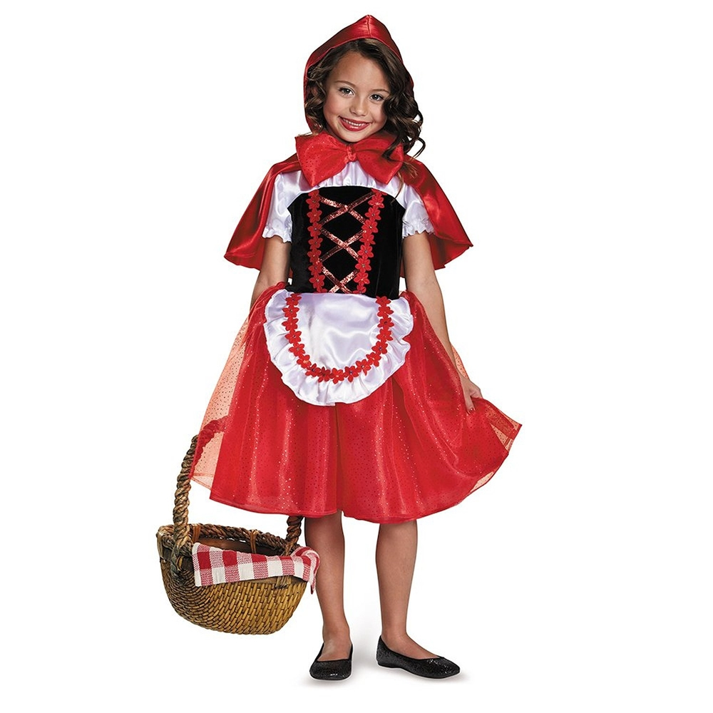 [Classic Little Red Riding Hood Child Costume] (Little Red Riding Hood Costumes Child)