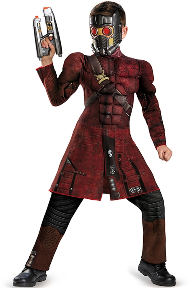 Guardians of the Galaxy Star-Lord Muscle Child Costume