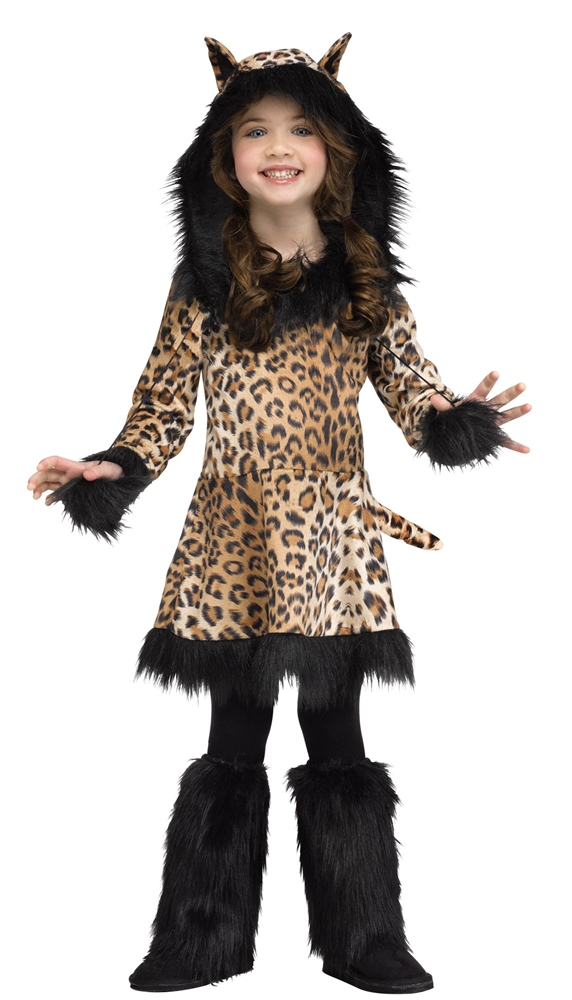 Cute Leopard Toddler Costume 354428 Trendyhalloween Com