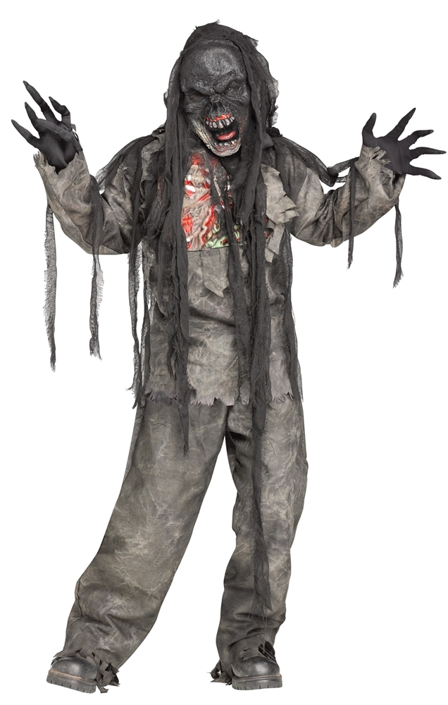 Burning Dead Zombie Child Costume