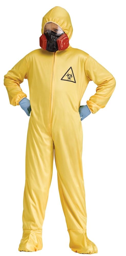 Yellow Hazmat Jumpsuit Child Costume