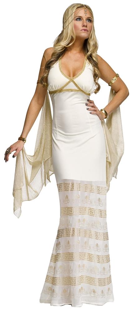 Golden Goddess Adult Womens Costume