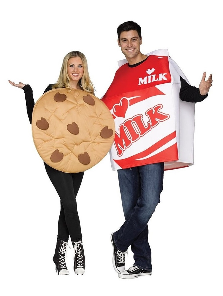 Cookies & Milk Adult Costume Set