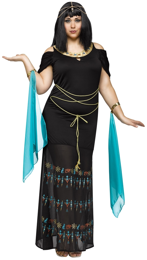 Egyptian Queen Adult Womens Plus Size Costume (Egyptian Women Costume)