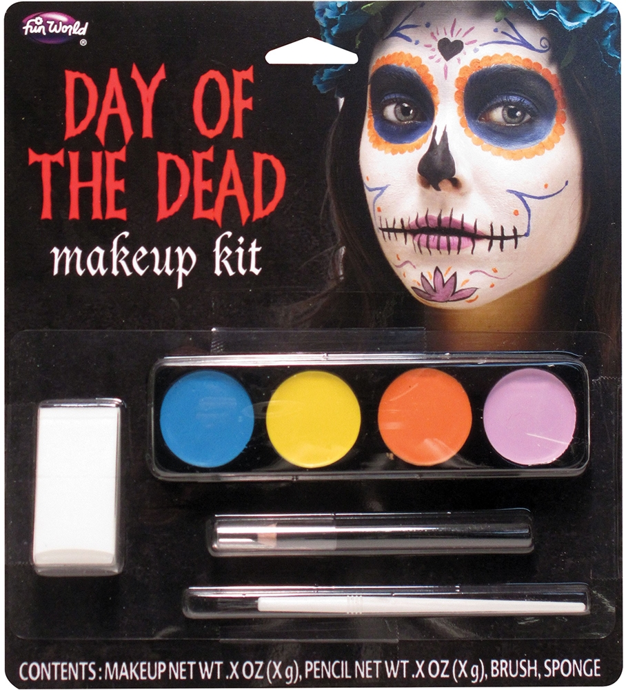 Day of the Dead Ghost Girl Makeup Kit