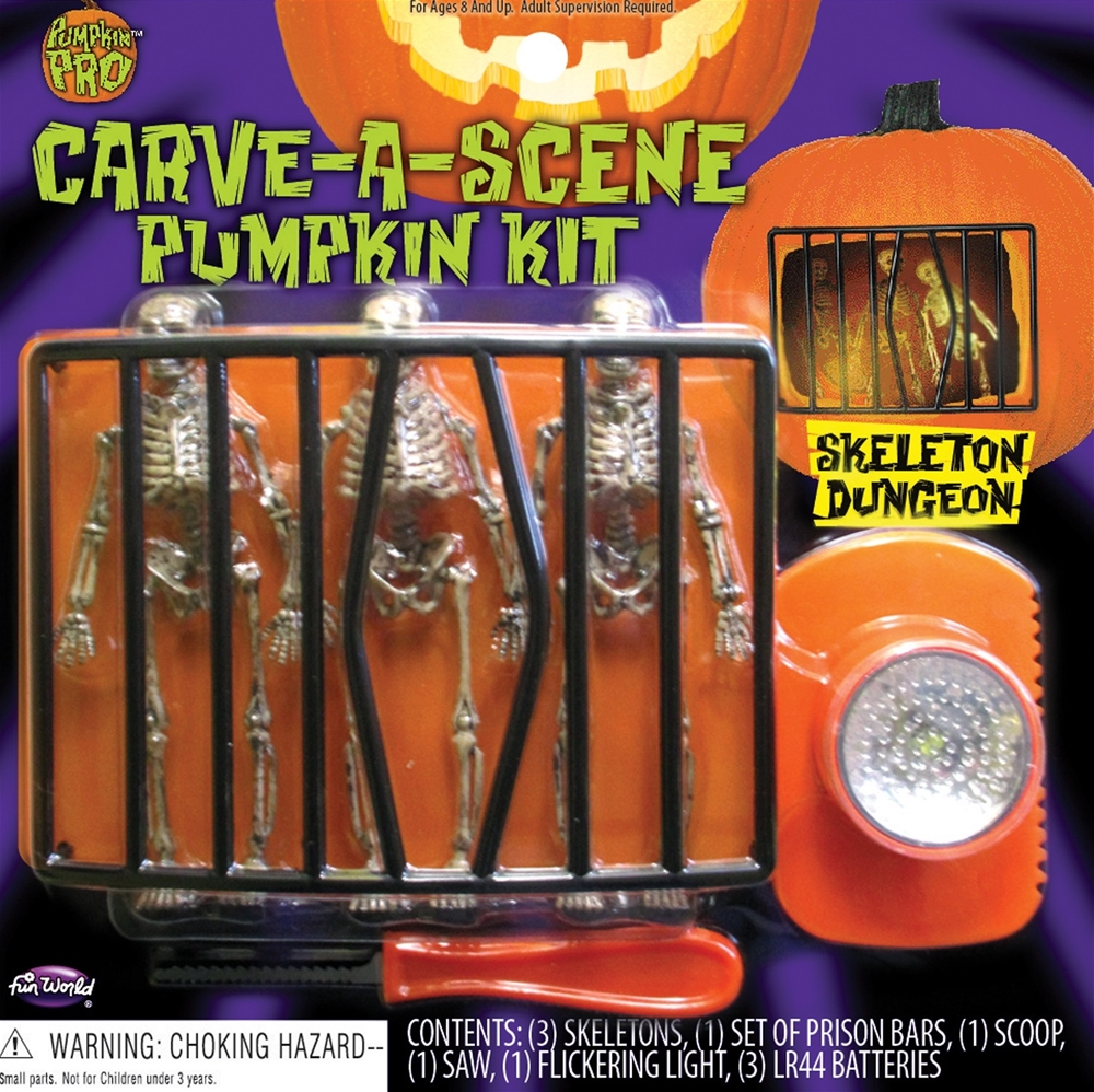 Carve-A-Scene Pumpkin Decorating Kit (More Styles)
