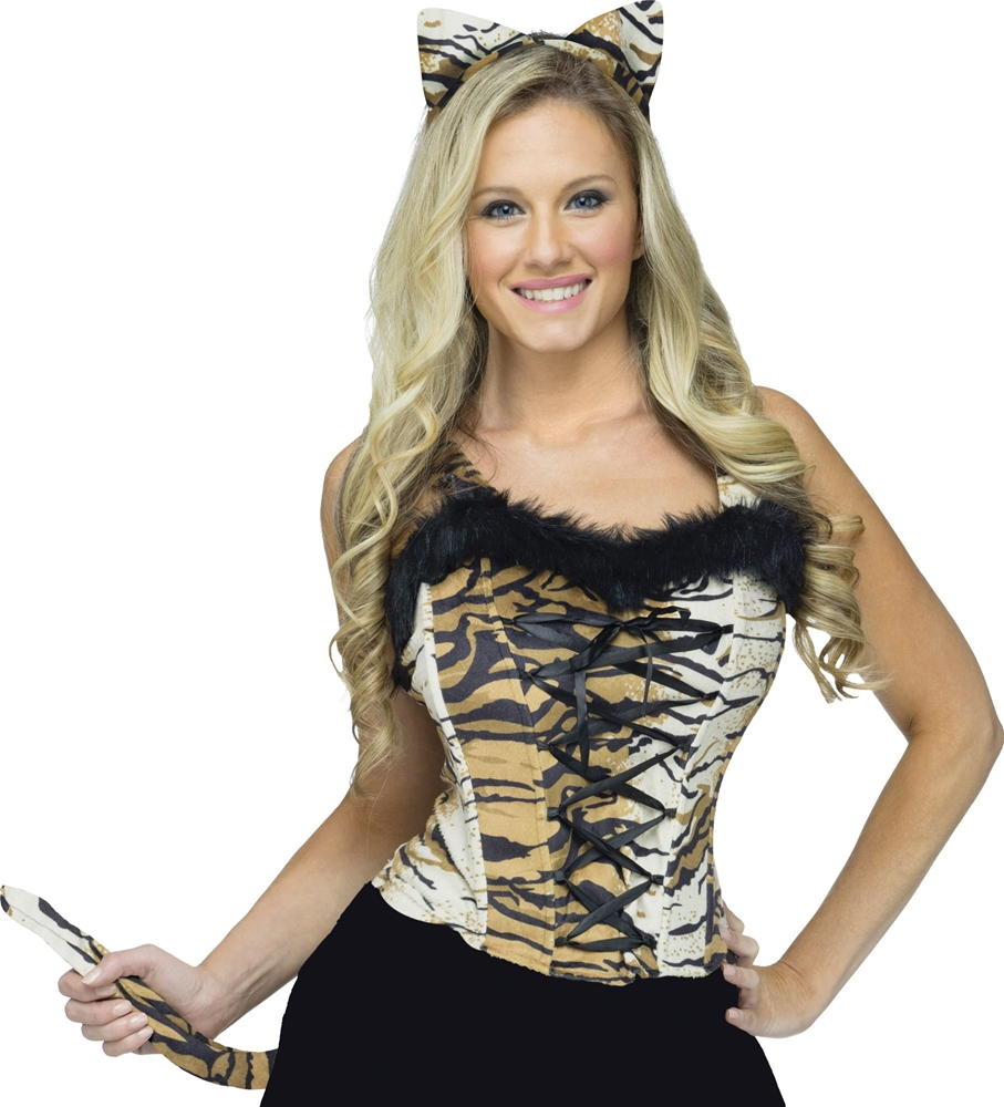 Sexy Tiger Instant Costume Kit