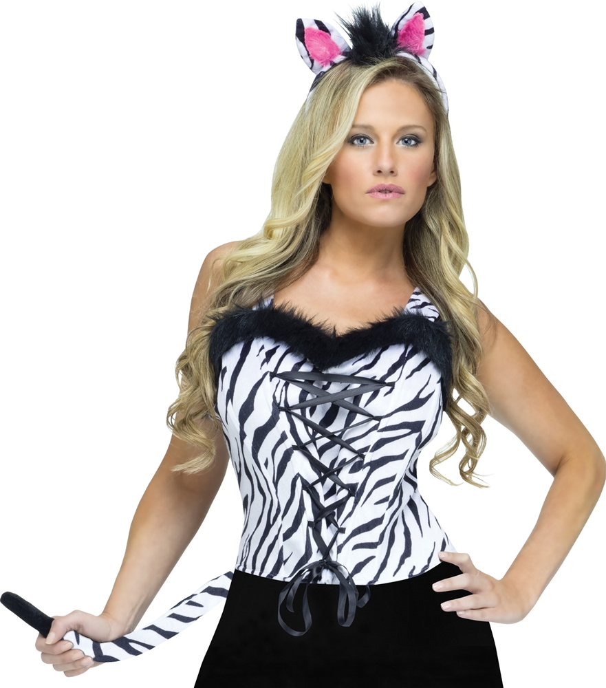 Sexy Zebra Instant Costume Kit by Fun World