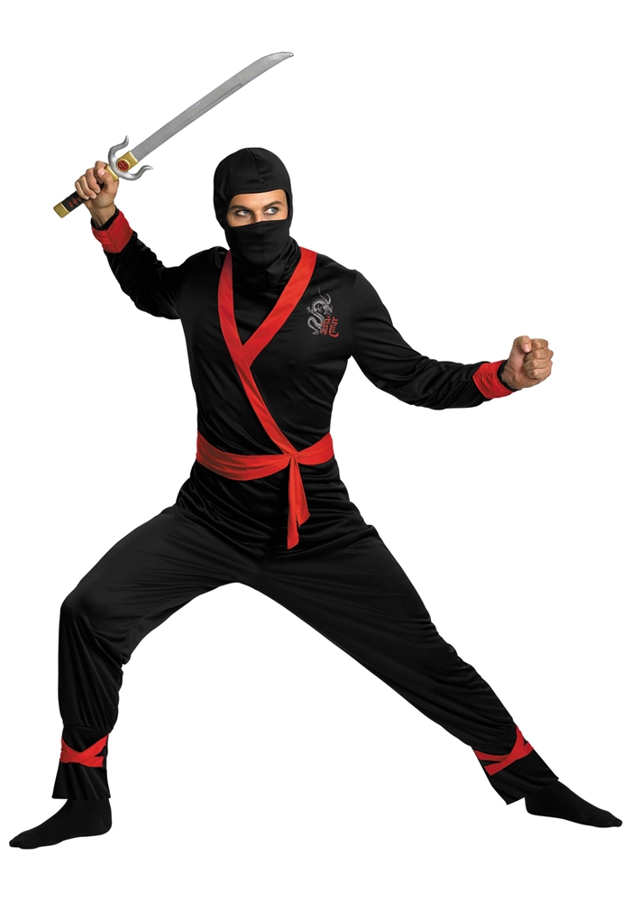 Ninja Master Adult Mens Plus Size Costume by Disguise
