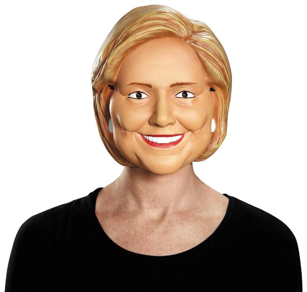 Hillary Clinton Adult Half Mask