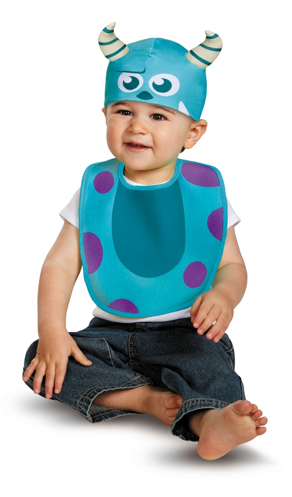 Monsters Inc. Sulley Bib & Hat Set