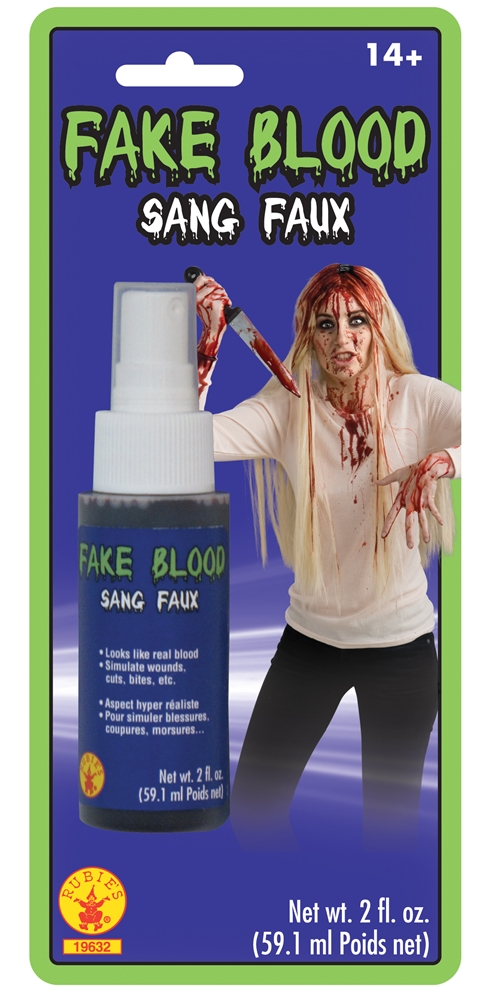 Fake Blood Spray 2oz by Rubies