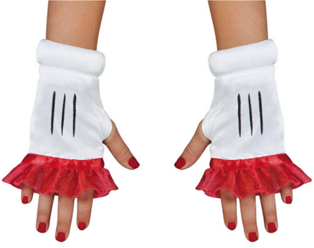Minnie Mouse Adult Glovettes
