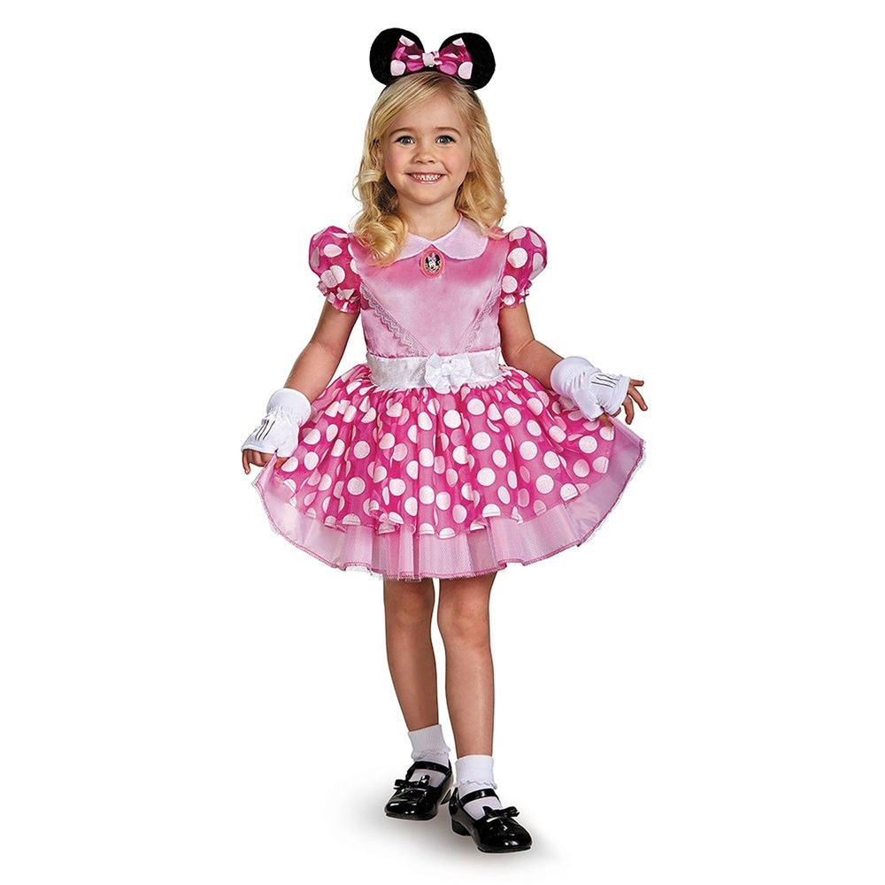 minnie mouse classic pink tutu toddler child costume 354707. Black Bedroom Furniture Sets. Home Design Ideas