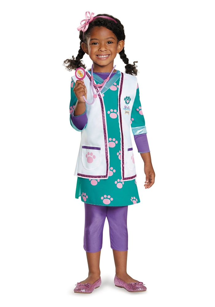 Doc McStuffins Deluxe Pet Vet Toddler & Child Costume