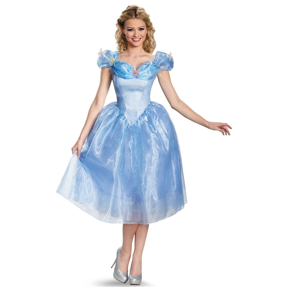 Cinderella Movie Deluxe Adult Womens Costume