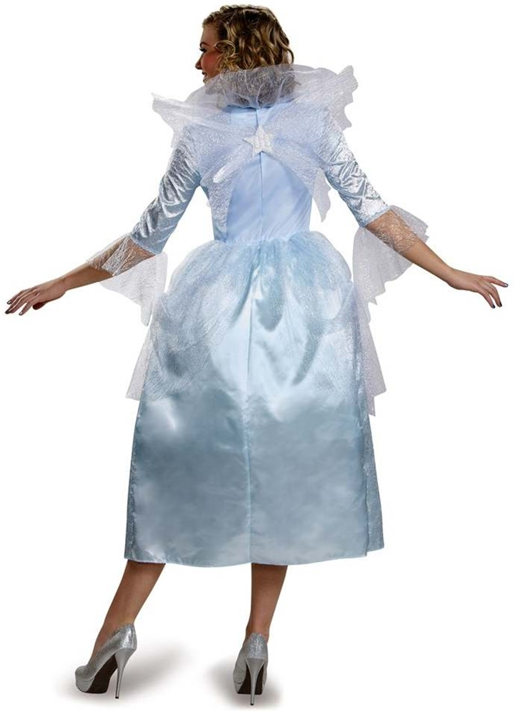Cinderella Movie Deluxe Fairy Godmother Adult Womens