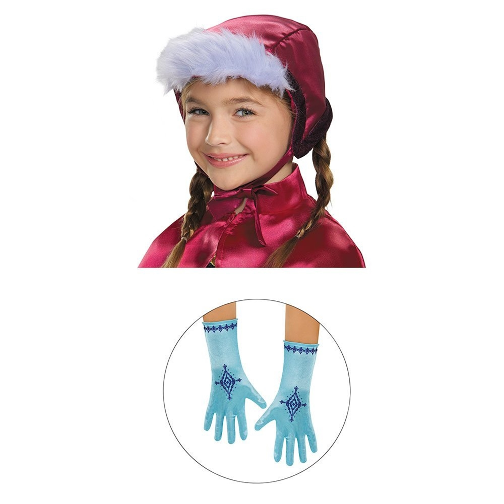 Disney Frozen Anna Bonnet & Gloves Child Set