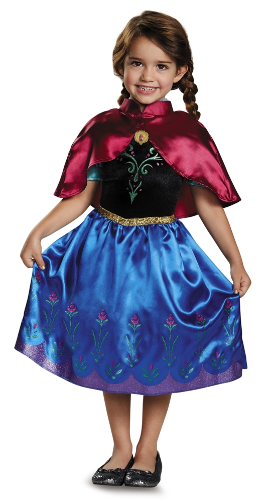 Frozen Classic Traveling Anna Toddler Costume