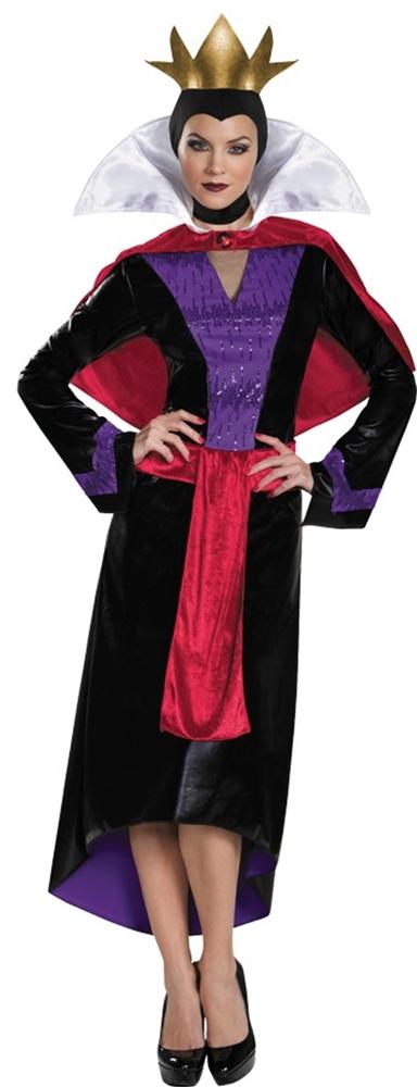 [Disney Deluxe Evil Queen Adult Womens Costume] (Womens Disney Costumes)