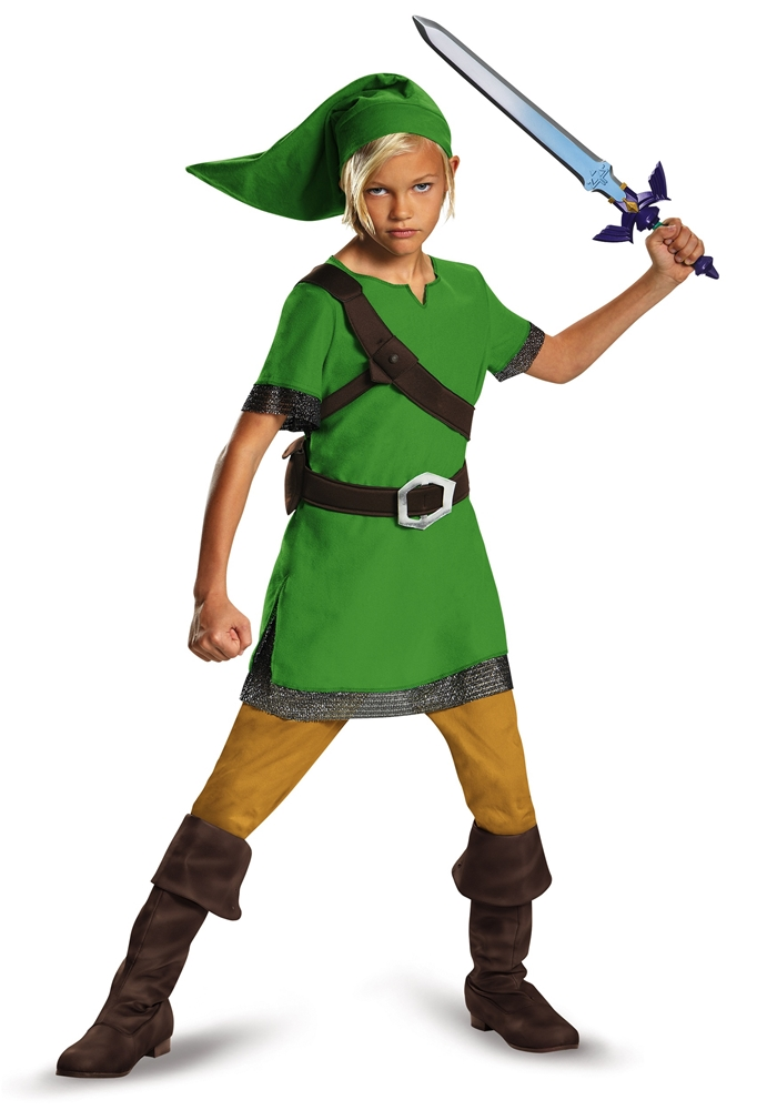 Zelda Classic Link Hylian Child Costume