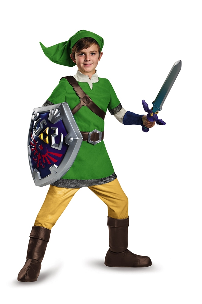 Zelda Deluxe Link Hylian Child Costume