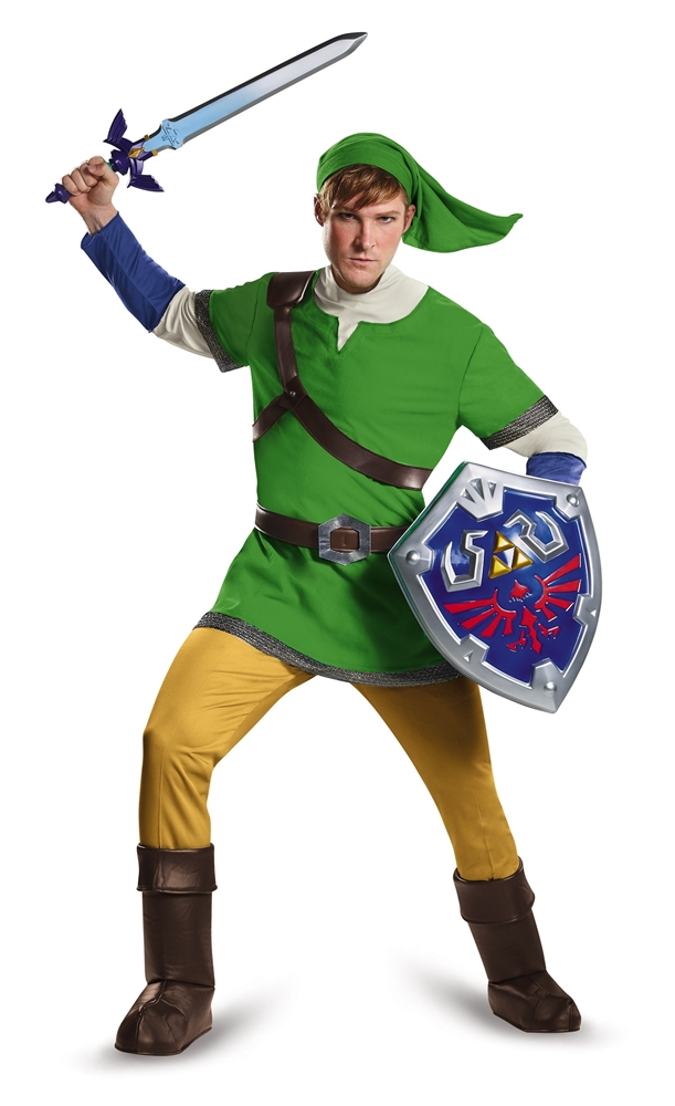 Zelda Deluxe Link Hylian Adult Mens Plus Size Costume