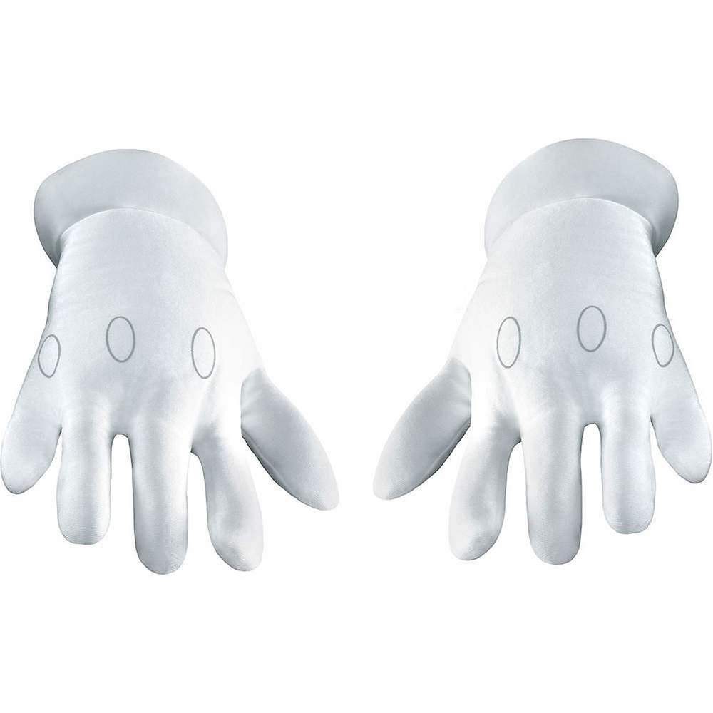 Super Mario Brothers Adult Gloves by Disguise