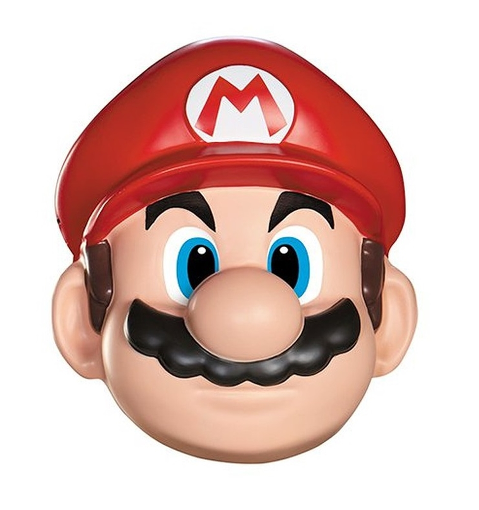 Super Mario Brothers Mario Adult Mask (Super Marios Brothers)