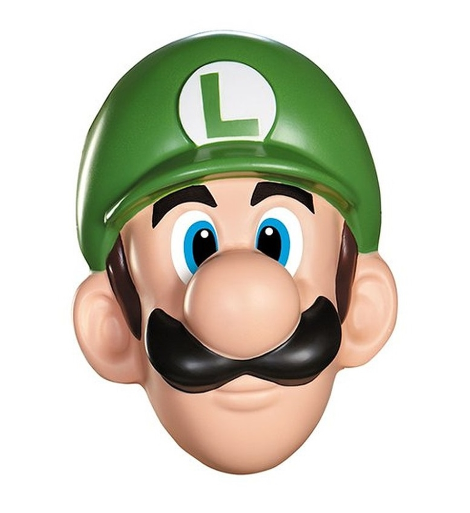 Super Mario Brothers Luigi Adult Mask by Disguise