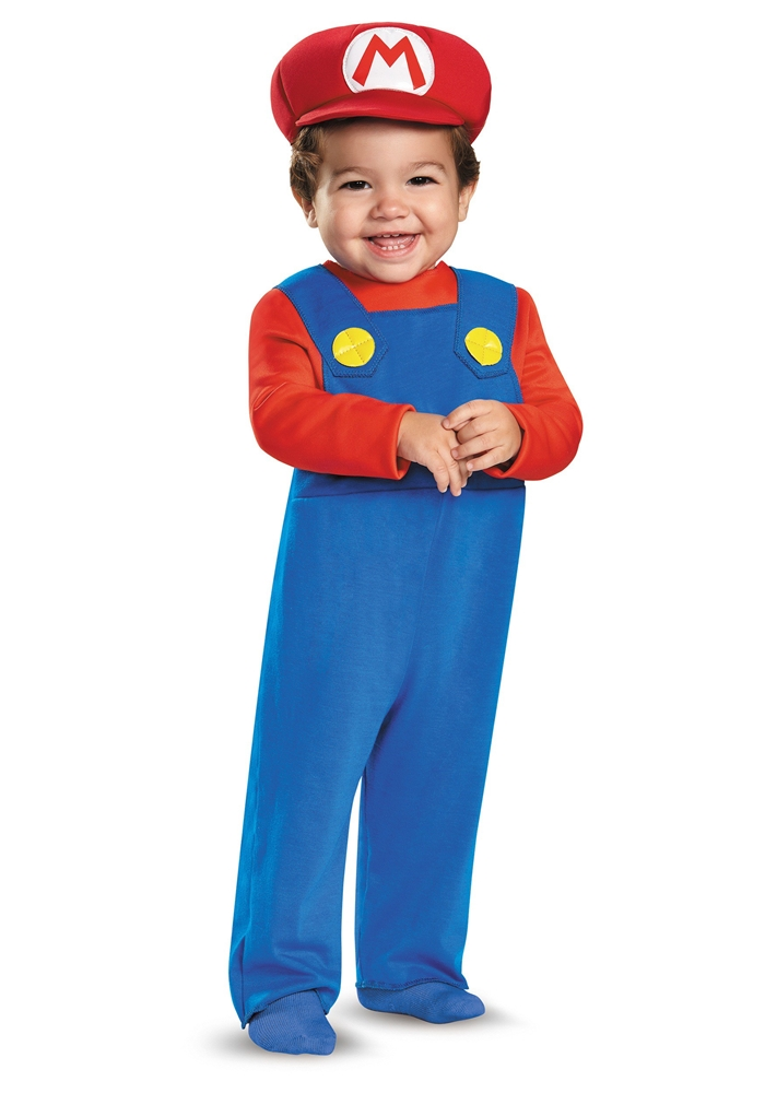 Super Mario Brothers Mario Infant Costume