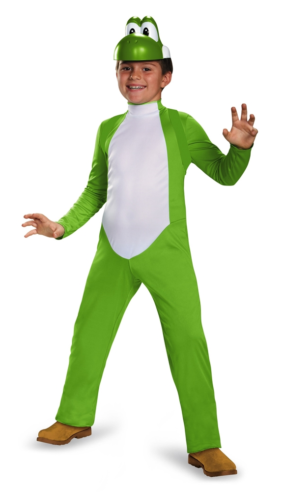 Super Mario Brothers Deluxe Yoshi Child Costume