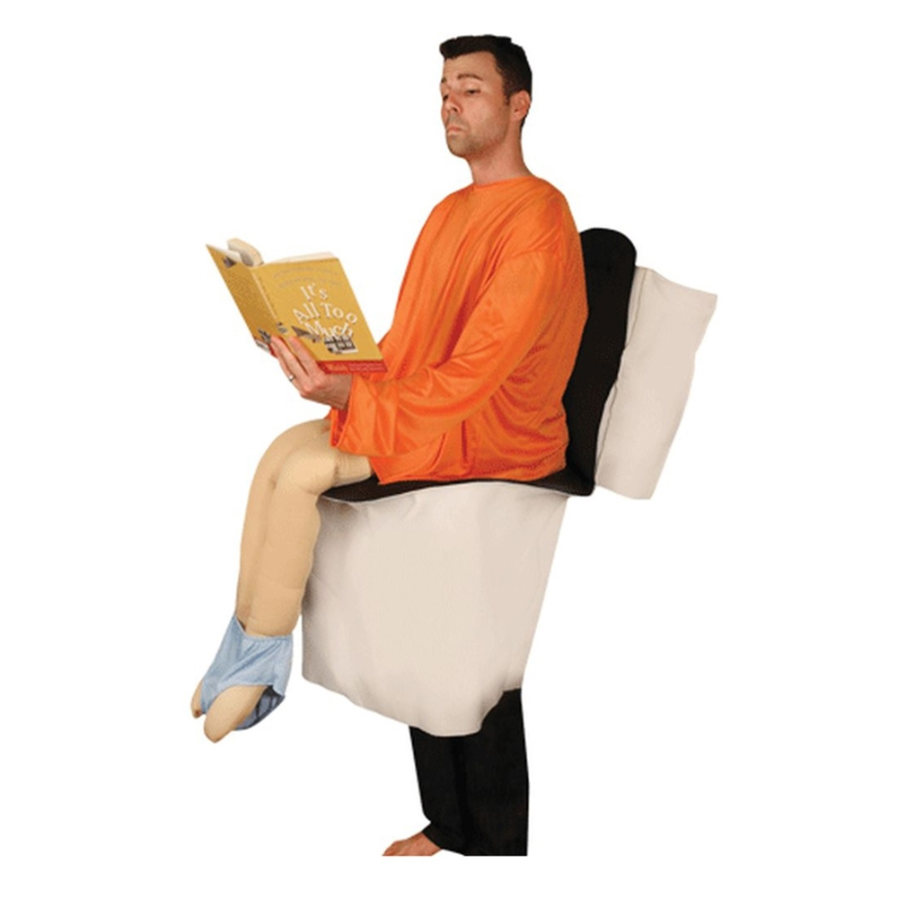 gay couple photo ideas - Toilet Man Adult Uni Costume