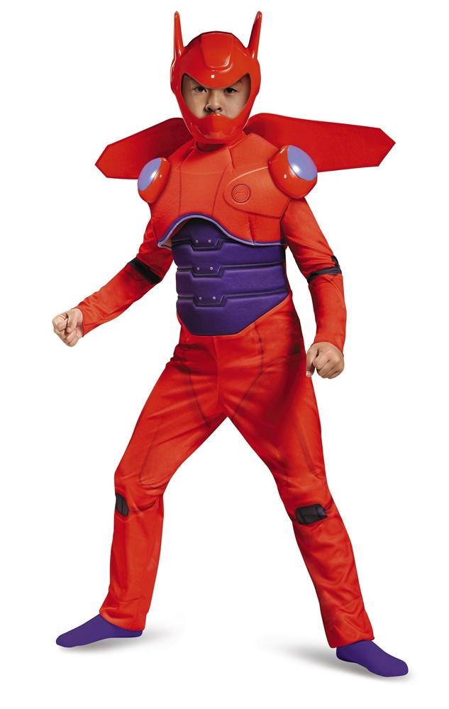 Big Hero 6 Deluxe Red Baymax Child Costume 87689