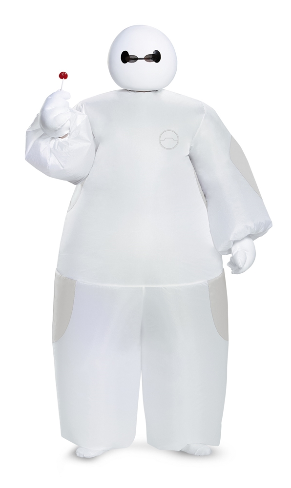 Big Hero 6 White Baymax Inflatable Child Costume