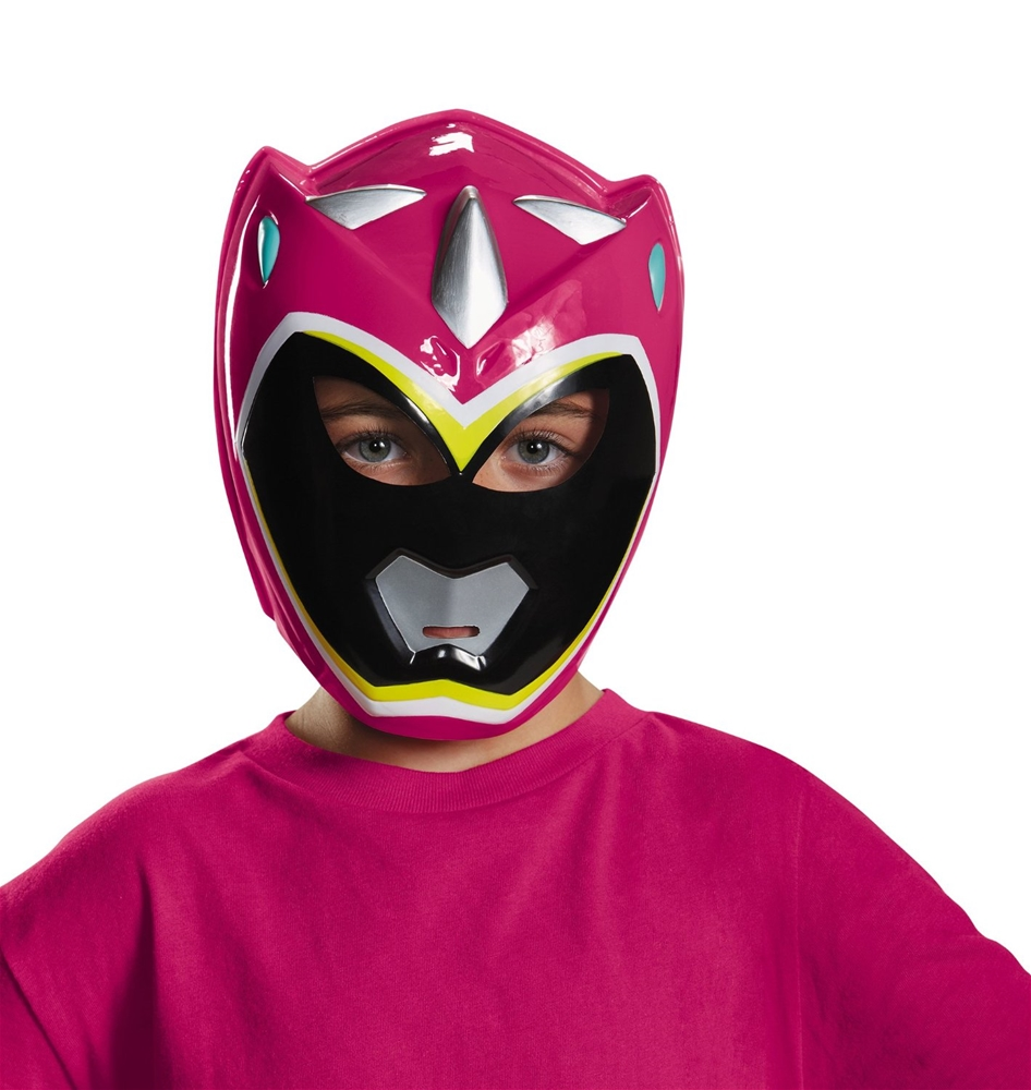 Power Rangers Dino Charge Pink Ranger Mask by Disguise