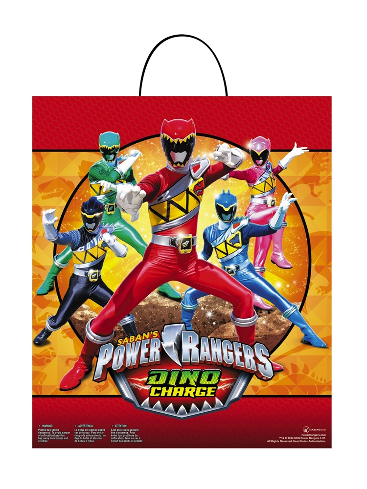 Power Rangers Dino Charge Treat Bag