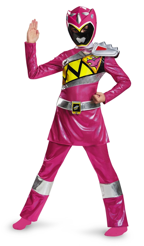 Power Rangers Dino Charge Pink Ranger Muscle Child Costume by Disguise