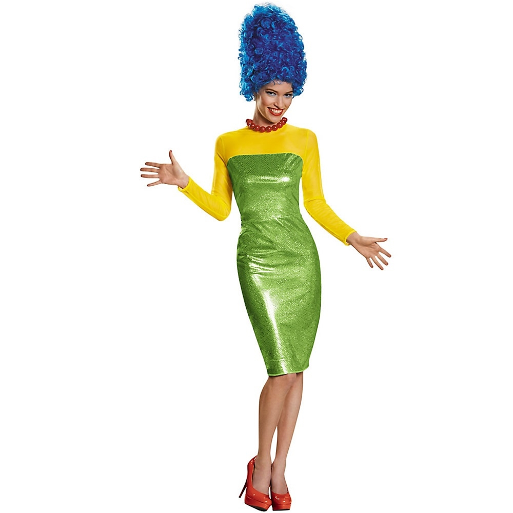 The Simpsons Marge Deluxe Adult Womens Costume