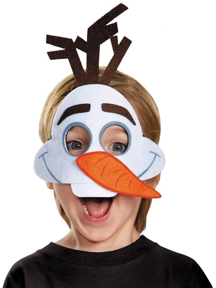 Olaf Felt Child Mask