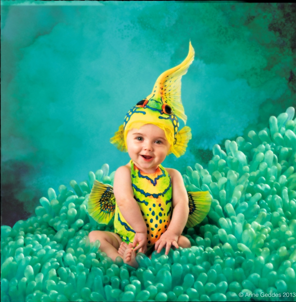Anne Geddes Yellow Goby Fish Toddler Costume 355816