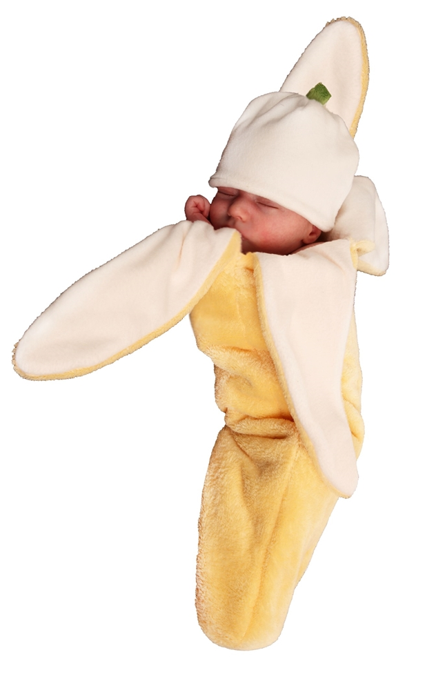 This baby banana costume comes in size Newborn. Spooktacular Creations Baby Monkey Costume Deluxe Set. by Spooktacular Creations. $ - $ $ 19 $ 24 95 Prime. FREE Shipping on eligible orders. Some sizes are Prime eligible. out of 5 stars
