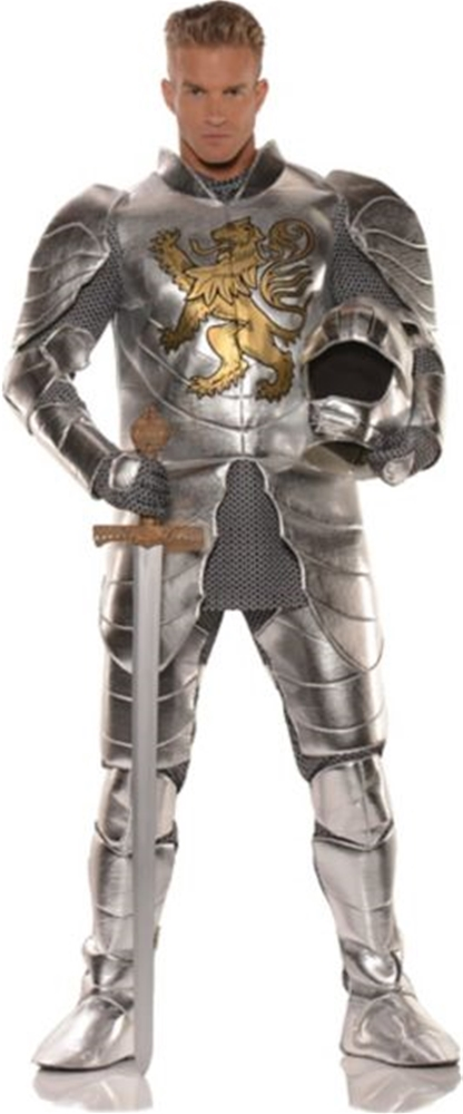 [Knight in Shining Armor Adult Mens Costume] (Shining Knight Costumes)